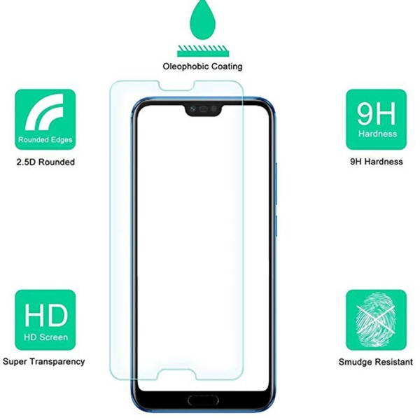 ProGuard Honor 10 Skärmskydd Standard 9H HD-Clear Transparent/Genomskinlig