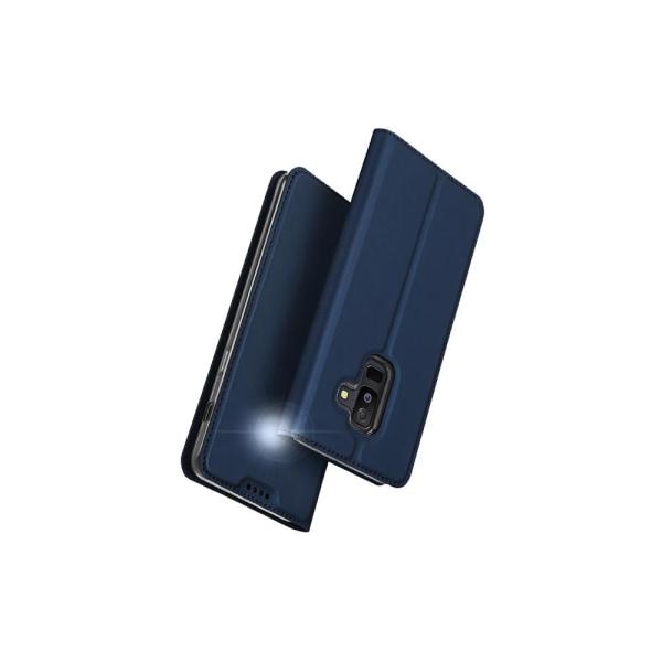 Exklusivt Fodral för Samsung Galaxy A6 Plus (SKIN Pro SERIES) Marinblå