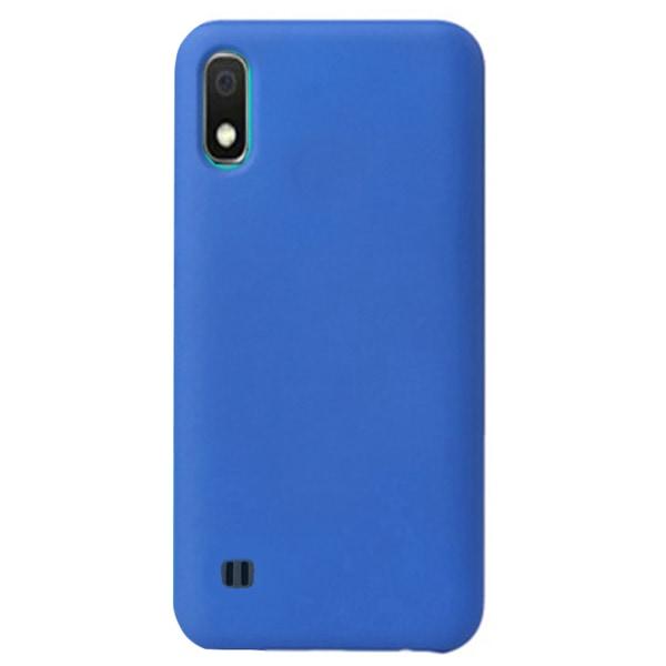 Samsung Galaxy A10 - Kraftfullt Stöttåligt Skal Blå