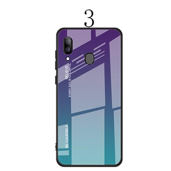 Samsung Galaxy A40 - Genomtänkt Skyddsskal 1