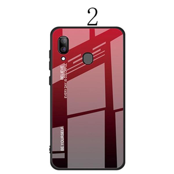 Samsung Galaxy A40 - Genomtänkt Skyddsskal 2