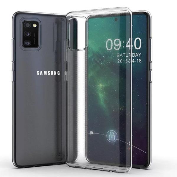 Skyddsskal - Samsung Galaxy A41 Transparent/Genomskinlig