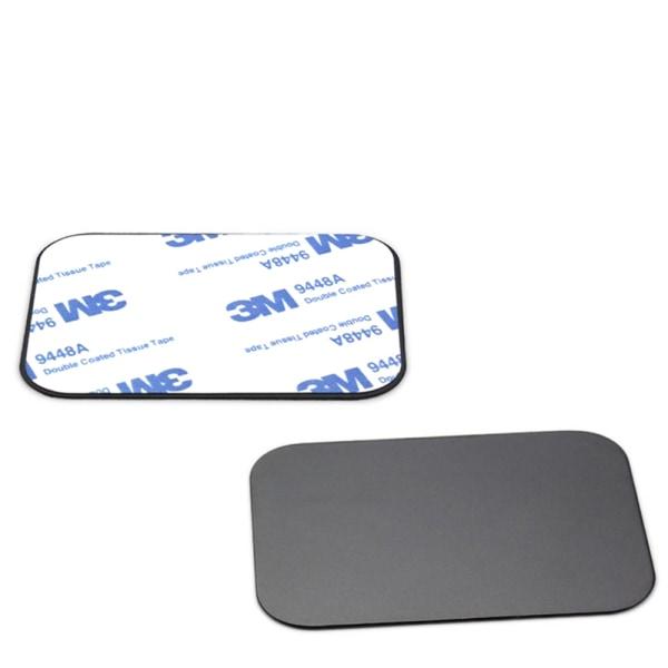 """Metallplatta för Mobilhållare """"Magnethållare"""" Silver"""