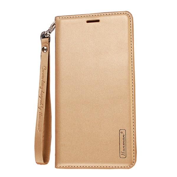 Stilrent Effektfullt Plånboksfodral - Samsung Galaxy S20+ Guld