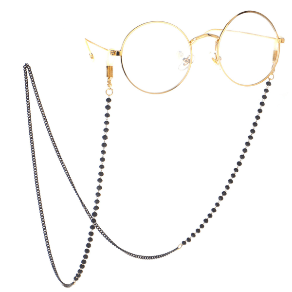 Elegant Smidig Glasögon/Solglasögon Kedja Svart