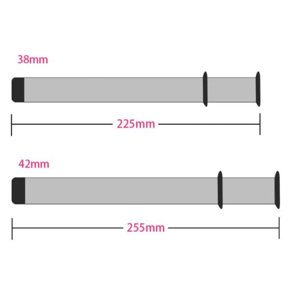 Smidig länk i Rostfritt Stål till Apple Watch 38mm Silver