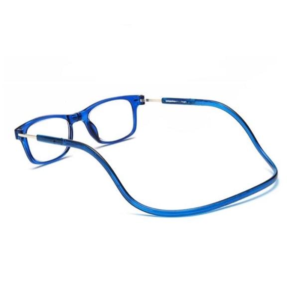 Praktiska Läsglasögon (Styrka upp till 4,0) MAGNET Svart 2.5