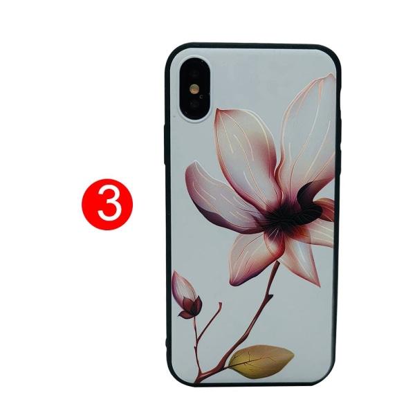 Sköna Sommarskal i silikon - iPhone X/XS 3