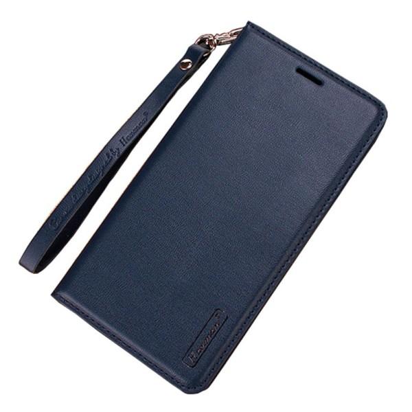 Kraftfullt Stilrent Plånboksfodral - iPhone 11 Pro Mörkblå