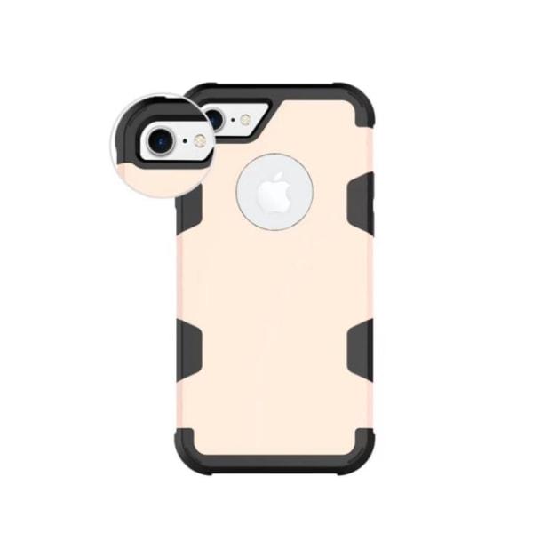 Stilrent Skal (RUGGED ROBOT) till iPhone 8 Svart/Guld