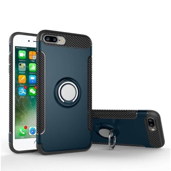 FLOVEMES Skal med Ringhållare för iPhone 6/6S Roséguld
