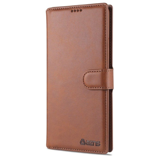 Genomtänkt Smidigt Plånboksfodral - Samsung Galaxy A42 Brun
