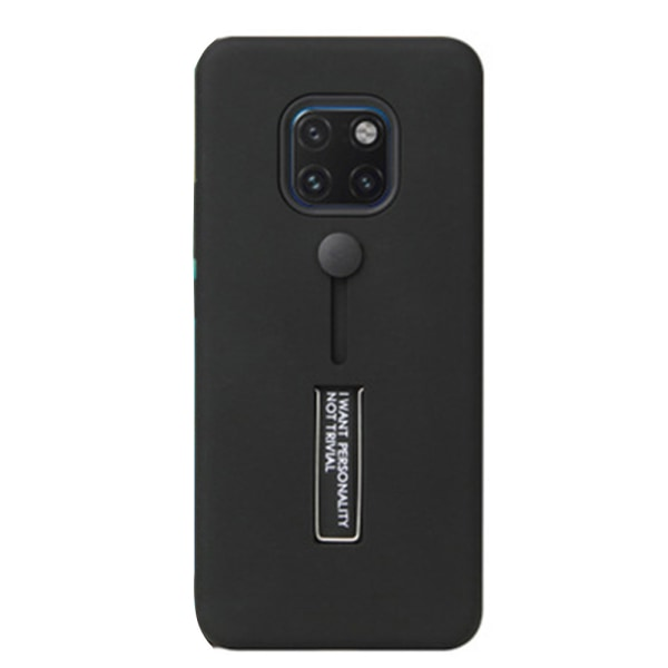 Huawei Mate 20 Pro - Stötdämpande Robust Skal (KISSCASE) Svart
