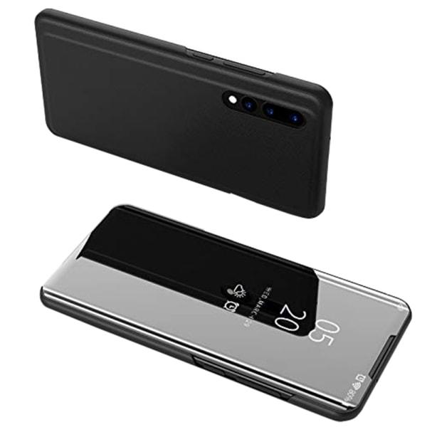 Huawei P30 - Clear View Stilsäkert Fodral från Leman Svart