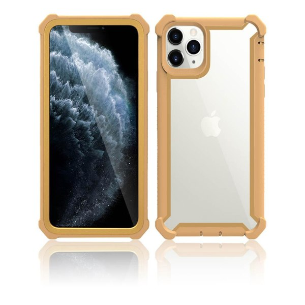 iPhone 11 Pro Max - Exklusivt Stöttåligt Skal Guld