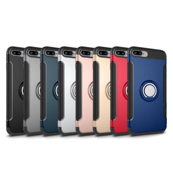 Karbonskal med Ringhållare för iPhone 6/6S Plus av FLOVEME Roséguld