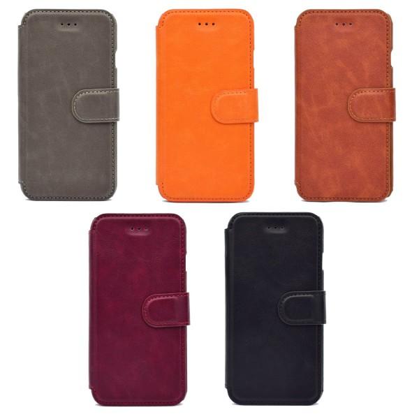 ROYBEN Plånboksfodral till iPhone 8 Orange