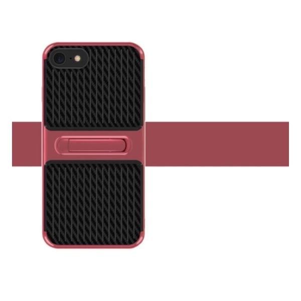 iPhone 8 - Exklusivt Robust Hybridskal (Class-X) (MAX SKYDD) Röd