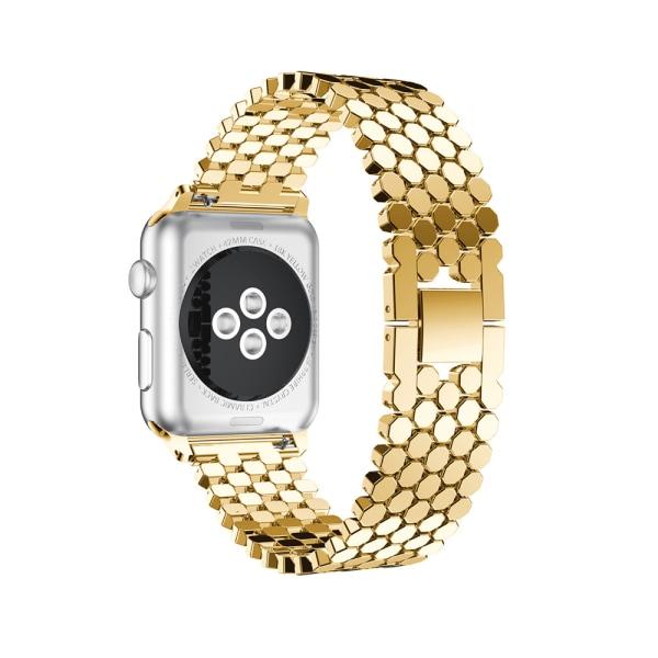 Stilsäker Länk i Rostfritt Stål - Apple Watch 42mm (3/2/1) Guld