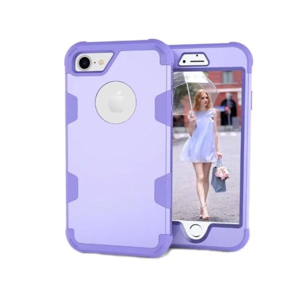 Lemans serie av Skyddande Skal för iPhone 8 Rosa/Svart