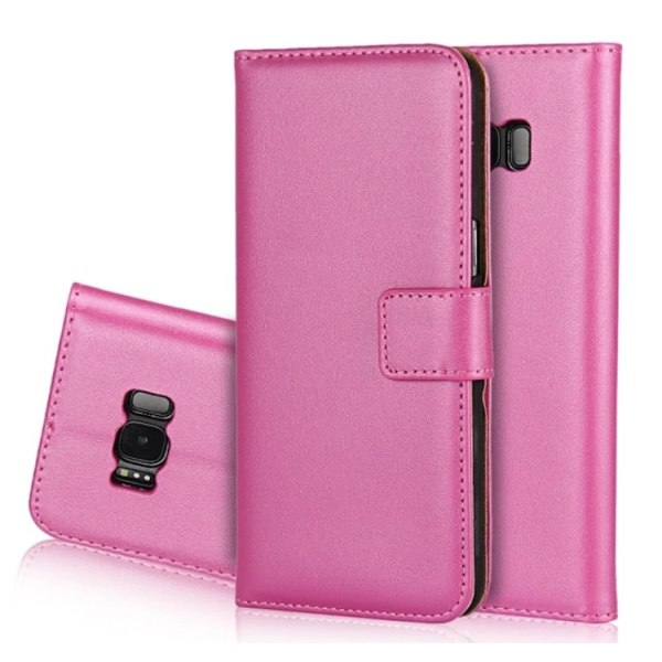 NORTH Plånboksfodral (Läder) Samsung Galaxy S7 Edge Rosa