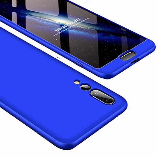 Huawei P20 Pro - Elegant Stötdämpande Skal Blå