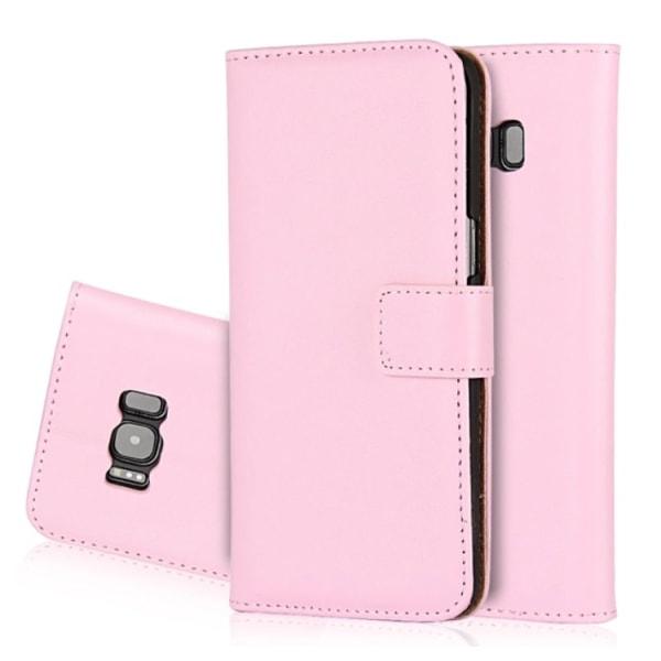 Plånboksfodral (Läder) från NORTH Samsung Galaxy S7 Edge Rosa