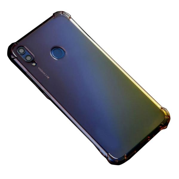 Kraftfullt Skal - Huawei P Smart 2019 Rosa/Lila