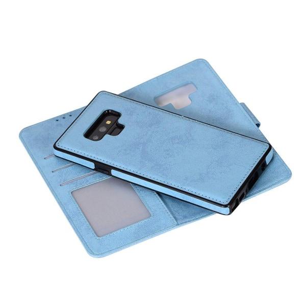 Samsung Galaxy Note 9 - Praktiskt Fodral (Dubbelfunktion) Marinblå