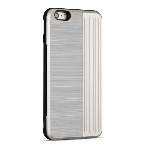 Skal med kortfack från LEMAN - till iPhone 6/6S Plus Blå