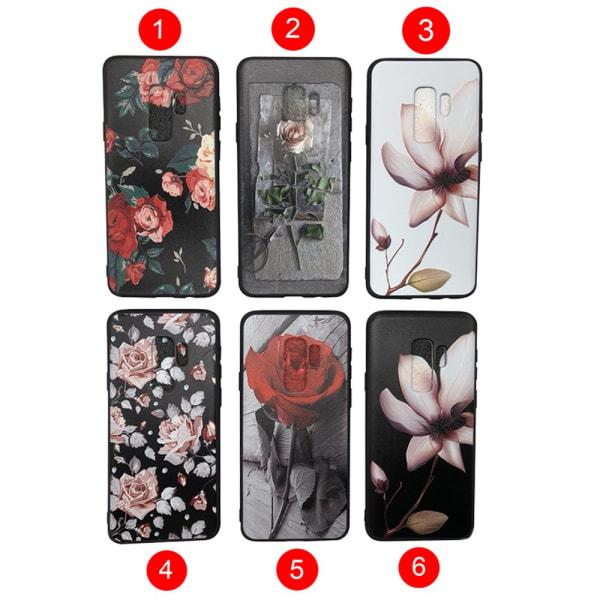 "Silikonskal ""Summer Flowers"" för Samsung Galaxy S9 Plus 5"