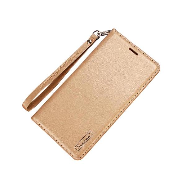 Smart Plånboksfodral för Samsung Galaxy A6 Plus - från Hanman Roséguld