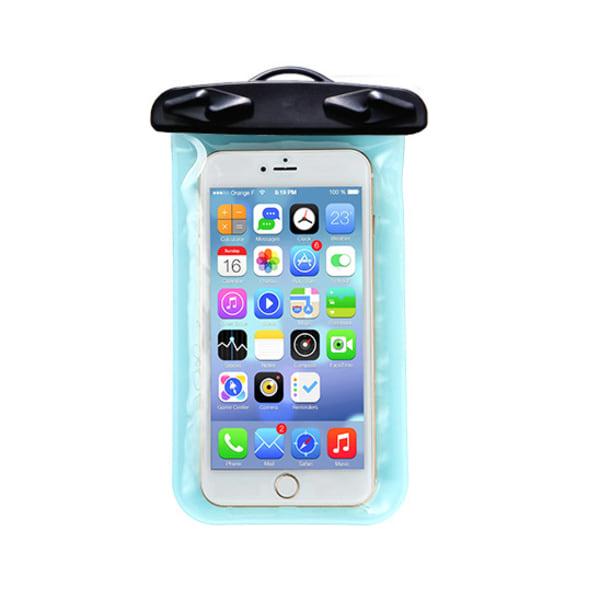 Vattentätt skydd för mobiltelefoner (Strandväska) Rosa-Transparent