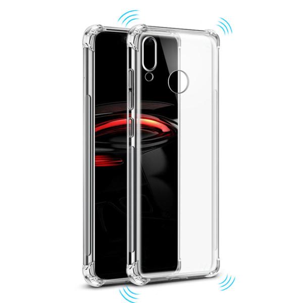 Skyddande Silikonskal FLOVEME - Huawei Y6 2019 Transparent/Genomskinlig