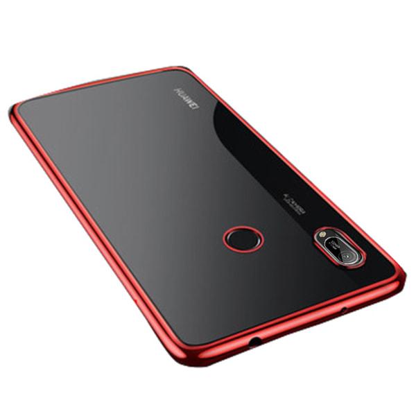 Stötdämpande Silikonskal (Floveme) - Huawei Y6 2019 Röd