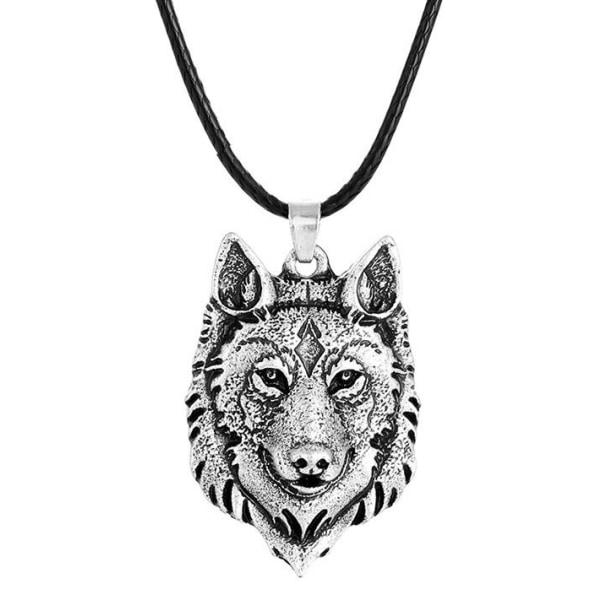 Kaulakoru - susi - Fenris - norja Silver