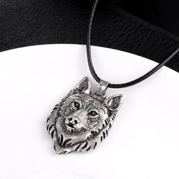 Halskæde - Ulv - Fenris - Norse Silver