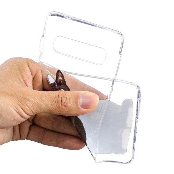Samsung Galaxy S10 PLUS Drömfångare Vit Mandala Spets Lace Vit