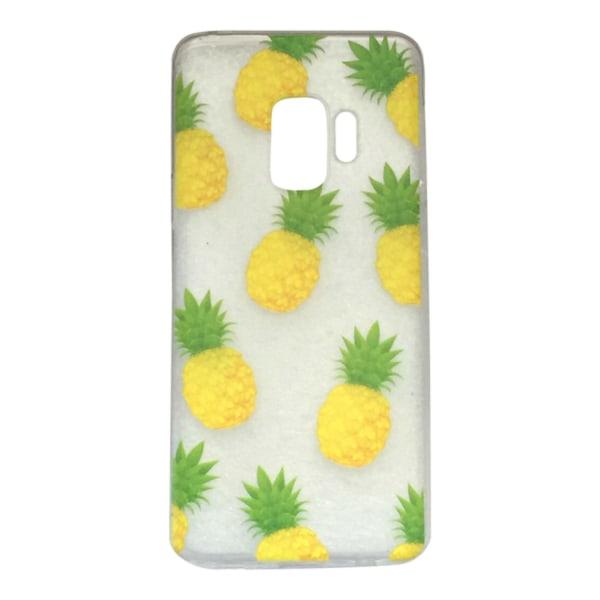 Samsung Galaxy S9 Ananas Pinepple Frukt Gul