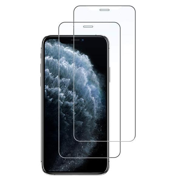 2-Pack - iPhone XR - Extra Stark Härdat Glas Skärmskydd