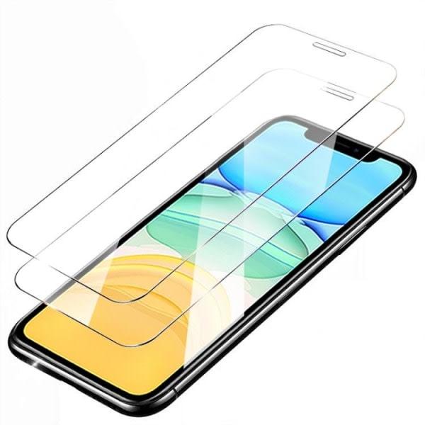 2-Pack - iPhone 12 mini - Extra Stark Härdat Glas Skärmskydd iPhone 12 Mini