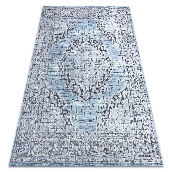 Exklusiv d-sign Matta 1D0969 Blå Blue 140x190