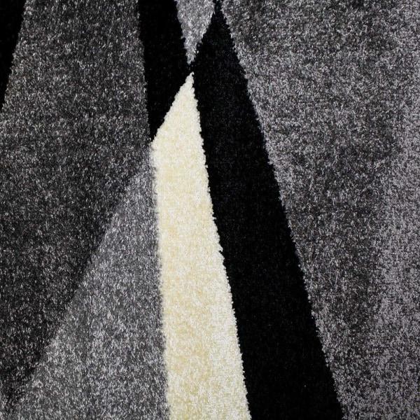 D-sign Matta Rainbow Van Mörkgrå/Ljusgrå 120x170cm Black 120x170 cm