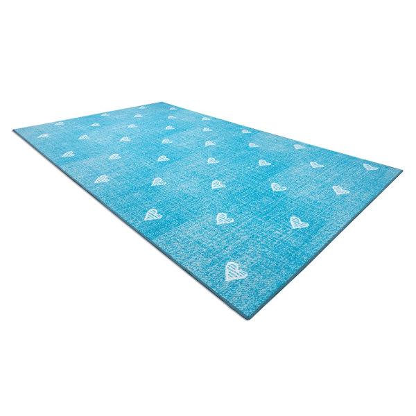 D-sign Matta 1D1351 Blå Blue 100x300 cm