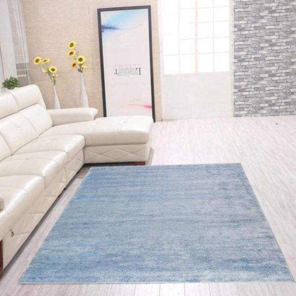 D-sign Matta Milano Collection Como Ljusblå Blue 80x120