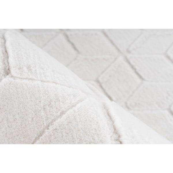 Deramsle Matta Kl Vit/Creme White 80x150