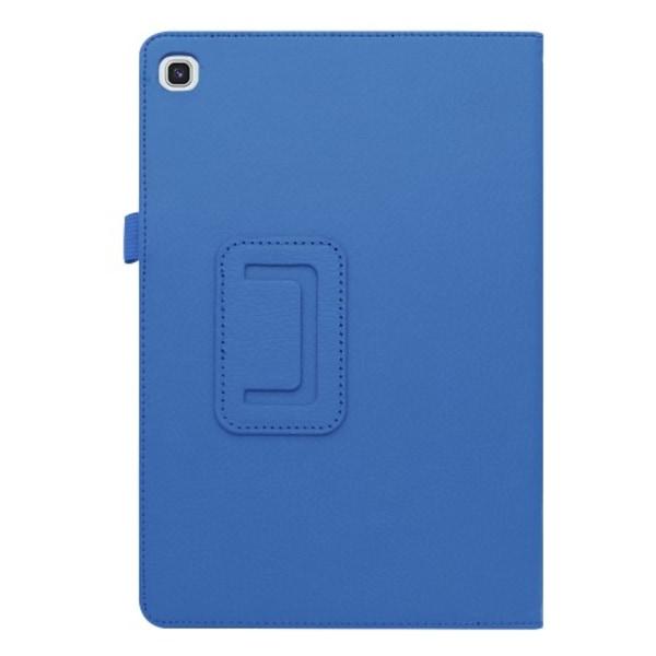 """Litchi Fodral för Samsung Galaxy Tab S5e 10.5"""" - Blå"""