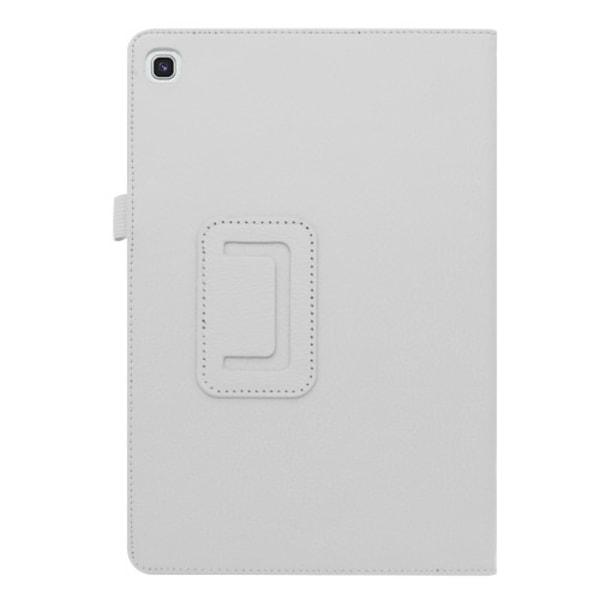 "Litchi Fodral för Samsung Galaxy Tab S5e 10.5"" - Vit"