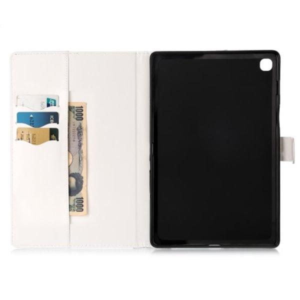 "Plånboksfodral för Samsung Galaxy Tab S5e 10.5"" - Vit"