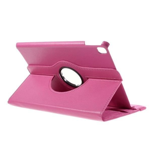 """Litchi Leather Fodral med Stativ för iPad Pro 9.7"""" - Rosa"""